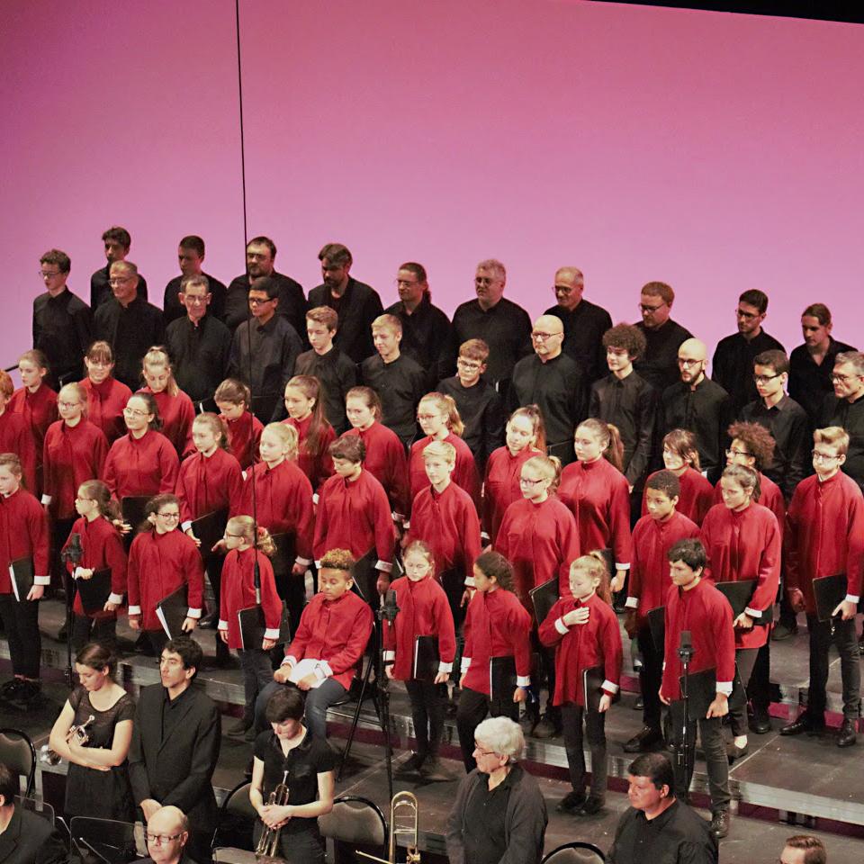 Concert des Petits Chanteurs de la Cité